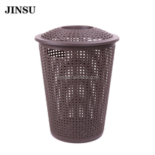 China Supplier Plastic Square Baskets Collapsible Laundry Basket Large Canvas Storage Bins