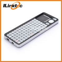 Portable Mini Bluetooth Keyboard with Touchpad & Laser Pointer