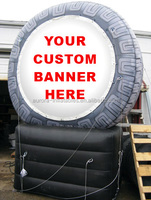 High Quality Advertising Tyre Inflatable Model