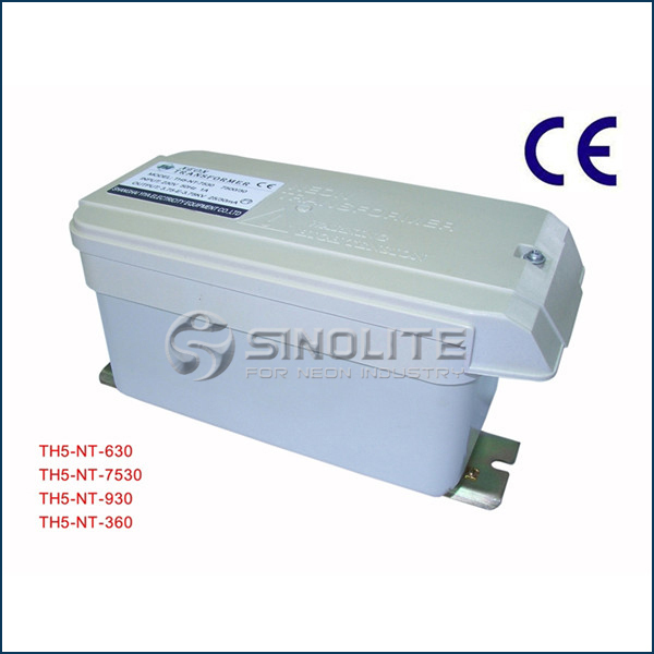 TH5-NT CE certificated Ferro-magnetic Neon Transformer