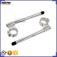 BJ-COHB-041B Manufacturer 41mm Raiser CNC Aluminum Motorcycle Clip On Handlebars For Yamaha R25 R3