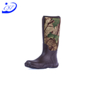 China Goods Wholesale waterproof outdoor leather for camo thinsulate hunting boots