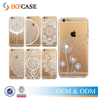Cover For Meizu MX4 MX4 Pro MX5 Pro Ultra Thin Soft Silicon Flower Printed Phone Case Luxury Transparent Back Cover