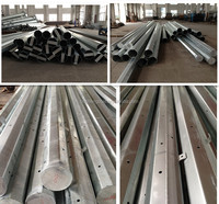 China Manufacturer Octagonal Steel Pole Electric Pole