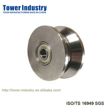 CNC Machining Parts,V Groove Gate Wheel