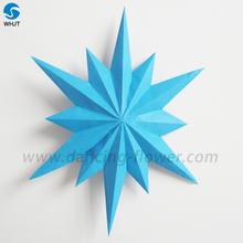 Monolayer Or Double layer Stick Crepe Paper Big Peony Flowers Christmas Decoration
