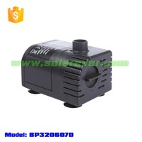 Flow rate adjustable dry run protected 6 volt to 9 volt dc water feature pump (BP320607D)