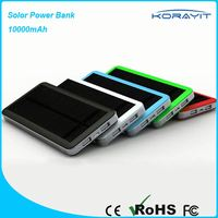 Factory Supply Big Capacity Solar Charger Power Bank for Travel Tourism