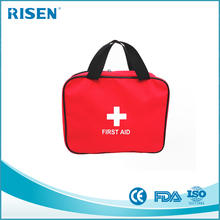 factory outdoors survival kit / car emergency bag / household first aid kit with red cross