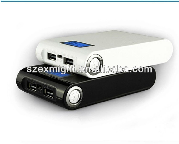 XN-121 LED hand lamps mobile portable power bank Real 8000mah/8800mah/10400mah power bank