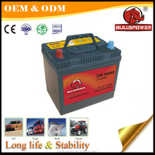 SMF 12V car batteries 80d26r ac dc din automotive battery 59219 60a
