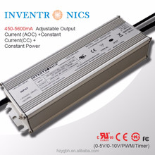 EUG-200S210DT Inventronics 200W Outdoor IP67 Self-waterproof 140-2100mA 48~143Volt (100Vdc) CC Dimmable LED Driver Power Supply