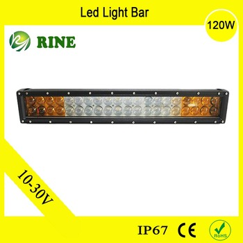 Car Accessories Led Fog Light 120W Offroad LED Light Bar For Trucks Tractors
