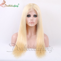 Blonde Remy Virgin Chinese Hair Full Lace Wigs