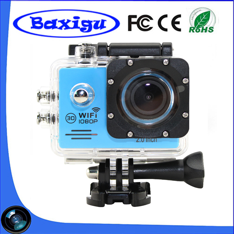 2017 Hot Sale cheapest go pro style SJ7000 1080P Full HD Action Camera Mouted for Car Bike Wireless WIFI HD Video Camera