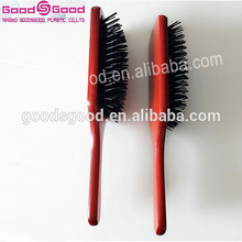 2015 professional hair loss treatment Argan Oil Infused Wooden Hair Brush factory