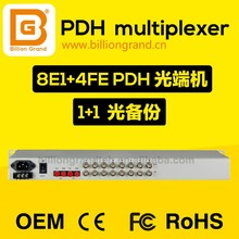China Hot Product E1 Ethernet Fiber Optical Modem for PDH to Optical