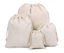 Travel Shoe Bags Cotton Drawstring Bags With Zipper For Men & Women