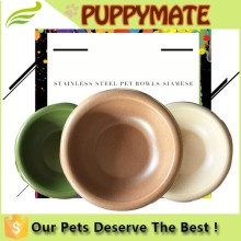 3 colors choices safe material China made fancy dog bowl