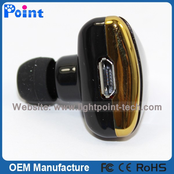 2015 Bluetooth Headset Headphone For Phone Single Mini In-ear High-end Bluetooth Headset