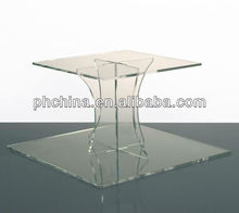 Custom made Acrylic single tier cake stand,Single acrylic cake stand