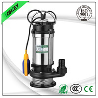 Irrigation pump for clean and hot water, submersible pumps