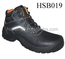 work widely used steel toe&plate protective unisex construction boots white reflective strip