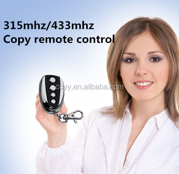 4 Channel 433MHz RF Remote Control Replacement Garage Door Opener Receiver