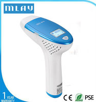 2015 mlay home use hair removal system(three functions in one )with 120000 shoots