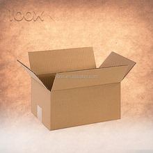 High quality 3/5 layers single/double wall nature brown shipping carton box