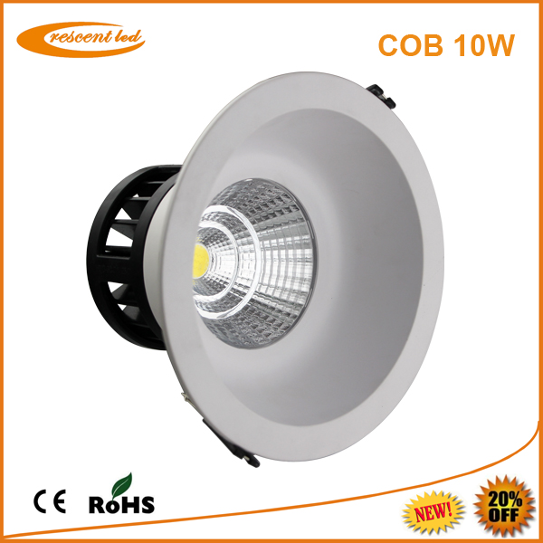 led downlight with dimmer 10w cob led downlights set