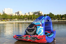 Latest design china supplier inflatable water ski ring, inflatable water ski tube