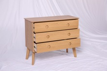 New design Bedroom furniture oak night stands table