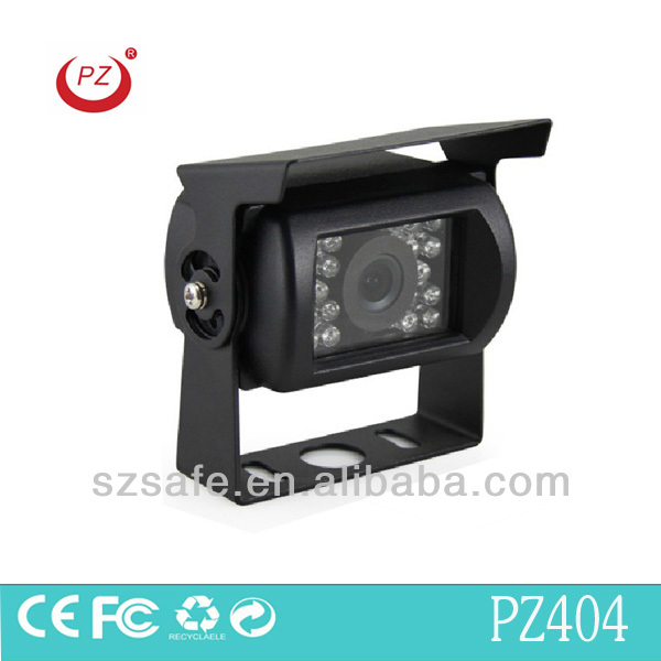 Hot selling truck camera working voltage 12v -24v automatically identification infrared night vision