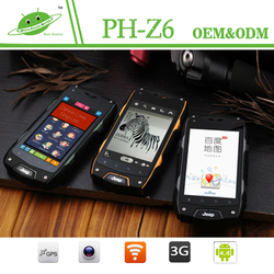 "JEEP Z6 Outdoor phone 4.0"" HD Screen 5.0MP Camera MTK IP68 waterproof best rugged mobile phone india"