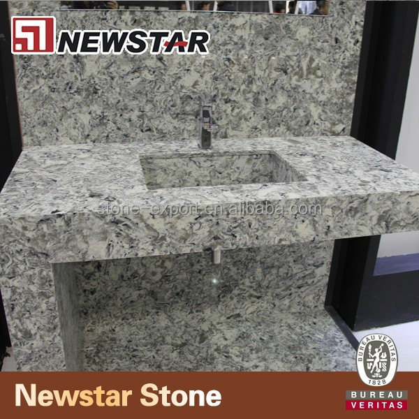 New color quartz countertop for hotel