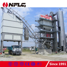 Stationary type asphalt hot batch mixing plant and related equipments
