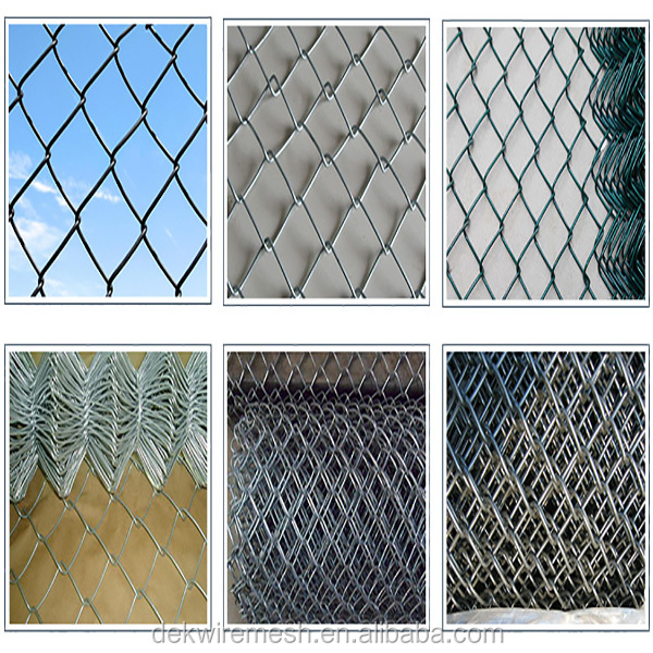 Hot sale prices chain link fence panels diamond mesh wire