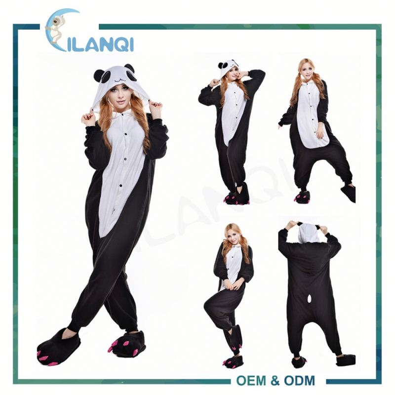 ALQ-A009 Manufacturers provide hooded apparel unisex onesie pajamas