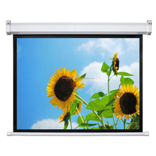 "SNOWHITE 250"" 4:3 Format Motorized Electric projector Screen For Business"
