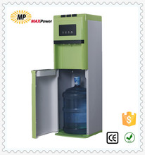 Bottom loading water dispenser with all colors