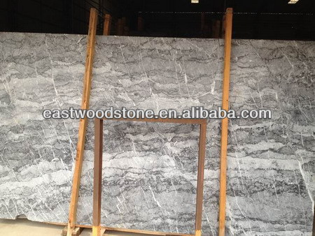Leather Italy grey countertop granite slab