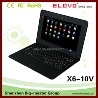 10.1 inch cheap Touch Screen Laptop Notebook with built in webcam