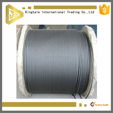 7X19 3mm good quality galvanized steel wire cable