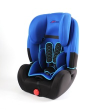 Blue Red Gray Springs Infant Car Seat With Soft Booster Cushions