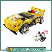 Kids building blocks educational DIY plastic RC car