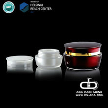 ADA-CP-119 plastic cosmetic packaging cream jar /Facial cream jar /luxury cream jar