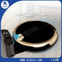 Wi-Fi With LED screen Touch HD camera vacuum cleaner robot Smartphone control For house monitor and cleaning