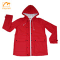 OEM Service Supply Type and Wool / Polyester Shell Material 2018 women winter jacket