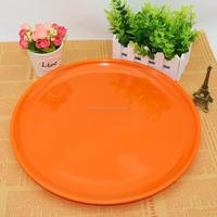 "melamine tableware plate 14""colored round tray 35*2cm"